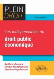 Les indispensables du droit public économique