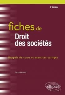 Fiches de Droit des sociétés - 3e édition