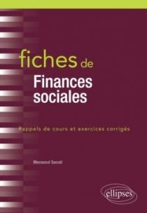 Fiches de Finances sociales