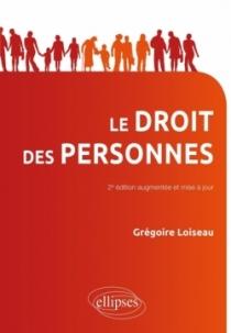 Droit des personnes - 2e édition mise à jour et augmentée