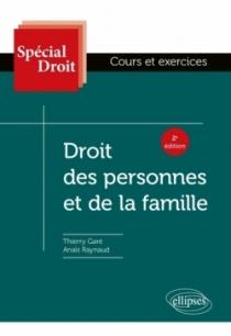 Droit des personnes et de la famille - 2e édition