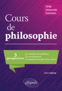 Cours de philosophie. Trois perspectives. CPGE, Université, concours