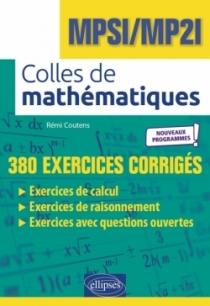 Colles de Mathématiques - MPSI/MP2I - Programme 2021