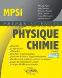 Physique-Chimie MPSI - Programme 2021