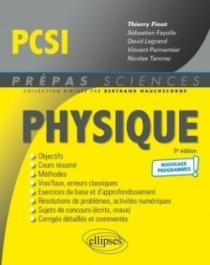 Physique PCSI - Programme 2021