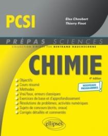 Chimie PCSI - Programme 2021