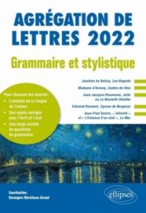 Grammaire et stylistique - Agrégation de lettres 2022