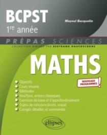 Mathématiques BCPST 1re année - Programme 2021