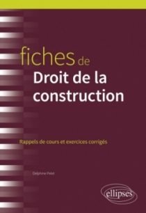 Fiches de Droit de la construction
