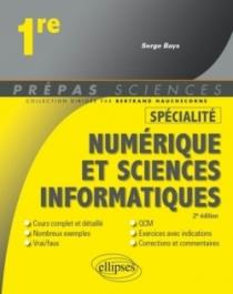 Spécialité Numérique et sciences informatiques - Première