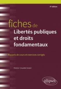 Fiches de Libertés publiques et droits fondamentaux