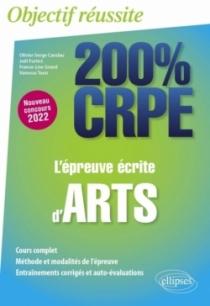 L'épreuve écrite d'arts - CRPE Nouveau concours 2022